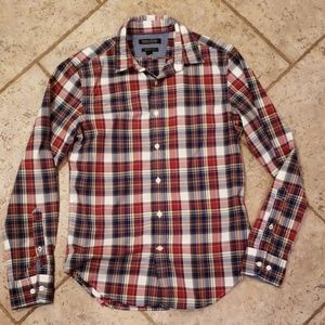 Long sleeve fall button down